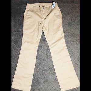 💥Old Navy Bootcut Khaki Pants